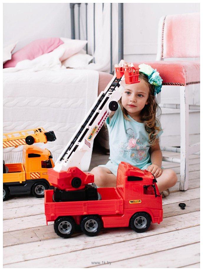 Фотографии Полесье Volvo автомобиль пожарный 58386
