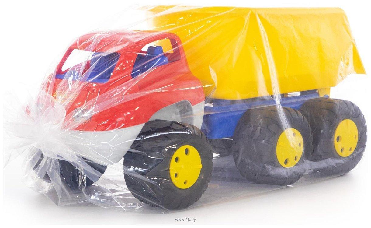 Фотографии Полесье Дакар автомобиль-самосвал с прицепом 46116