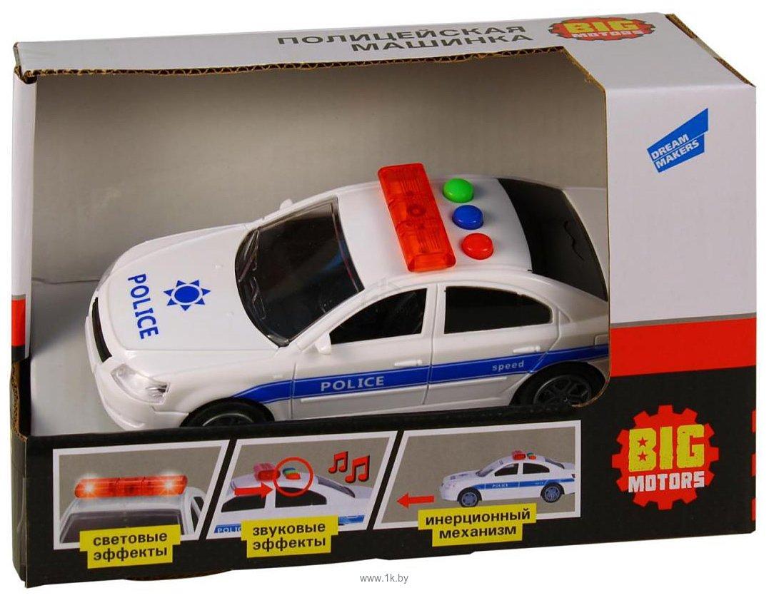 Фотографии Big Motors Полицейская машина RJ6663A