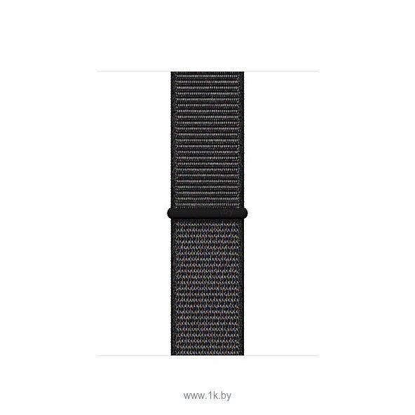 Фотографии Apple из плетеного нейлона 44 мм (черный, размер R) MTM72ZM