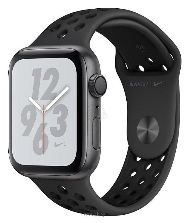 Фотографии Apple Watch Series 4 GPS 44mm Aluminum Case with Nike Sport Band