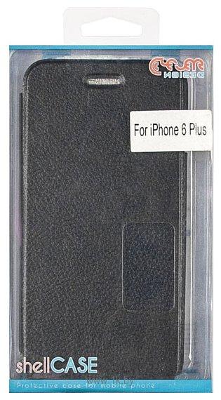 Фотографии Clever Design Shellcase для Apple iPhone 6 Plus (черный)