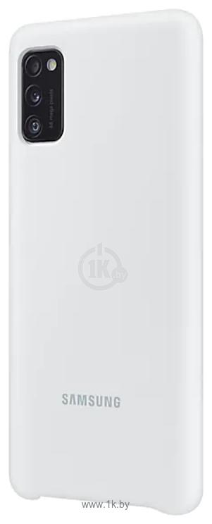 Фотографии Samsung Silicone Cover для Samsung Galaxy A41 (белый)