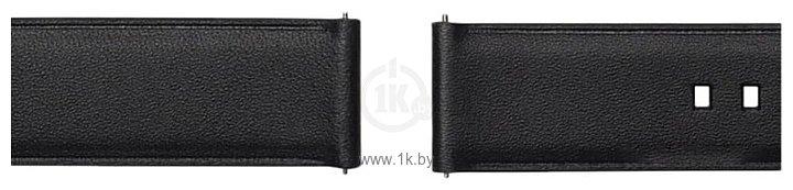 Фотографии Samsung Braloba Active Leather для Galaxy Watch 42mm/Active (черный)