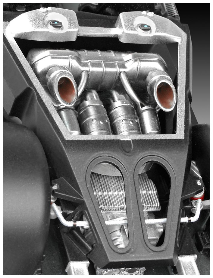 Фотографии Revell 07027 Автомобиль Porsche 918 Weissach Sport