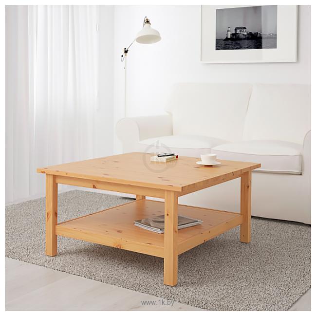 Фотографии Ikea Хемнэс (светло-коричневый) 903.886.43