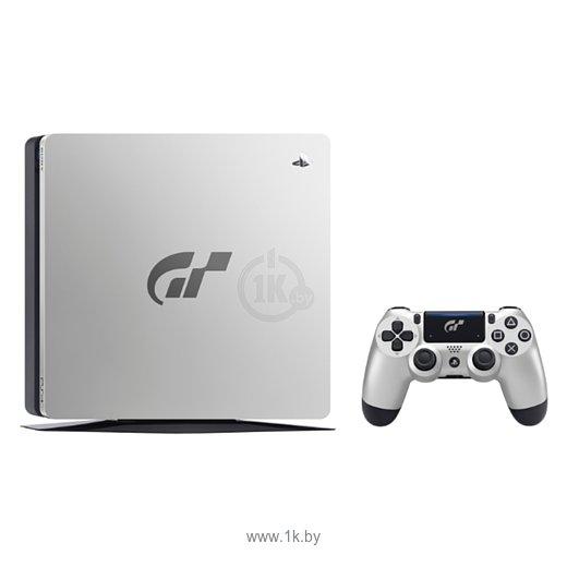 Фотографии Sony PlayStation 4 Slim 1 ТБ Gran Turismo Sport