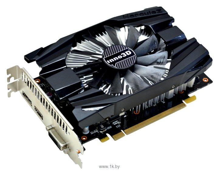 Фотографии Inno3D GeForce GTX 1060 1506Mhz PCI-E 3.0 3072Mb 8000Mhz 192 bit DVI HDMI HDCP Compact (N1060-6DDN-L5GM)