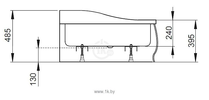 Фотографии Radaway Korfu E 120x90 (правый) (4E91240-03R)