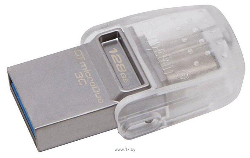 Фотографии Kingston DataTraveler microDuo 3C 128GB (DTDUO3C/128GB)