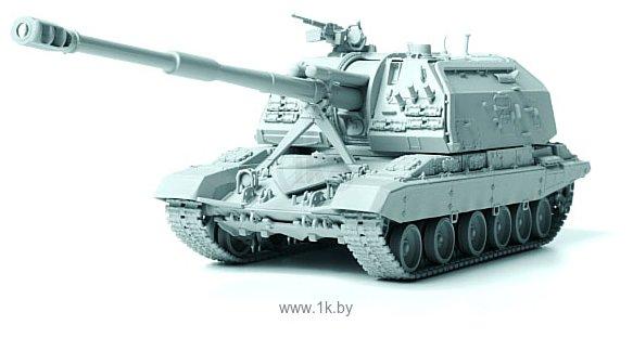 Фотографии Звезда Российская 152-мм гаубица МСТА-С