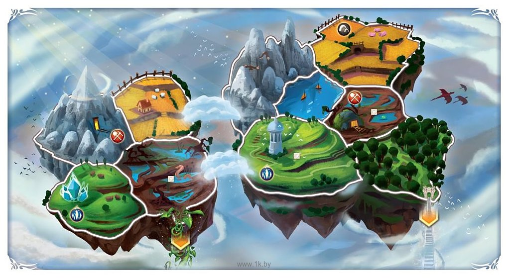 Фотографии Мир Хобби Small World Небесные острова