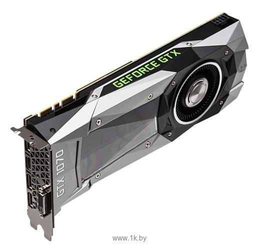 Фотографии ASUS GeForce GTX 1070 1506Mhz PCI-E 3.0 8192Mb 8000Mhz 256 bit DVI HDMI HDCP