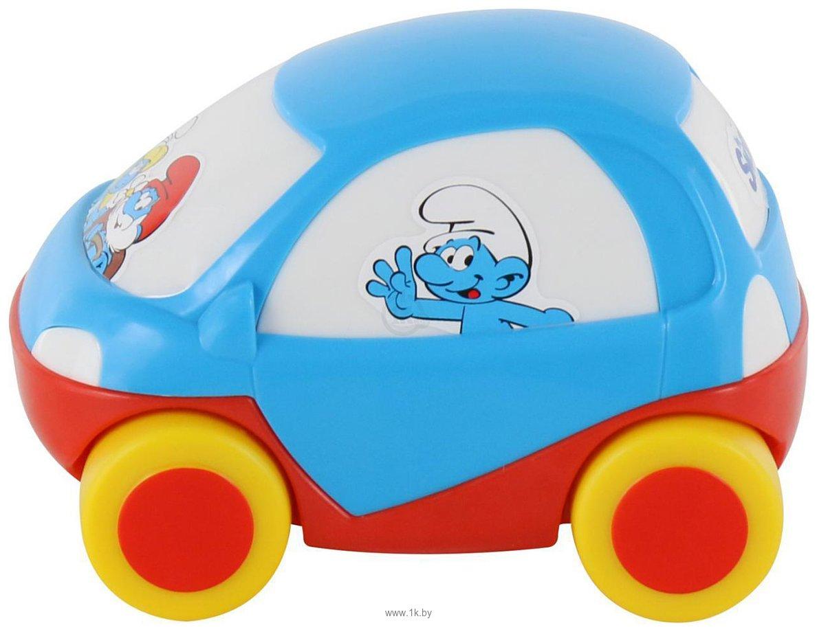 Фотографии Полесье Забавная детская машинка Смурфики №1 64509