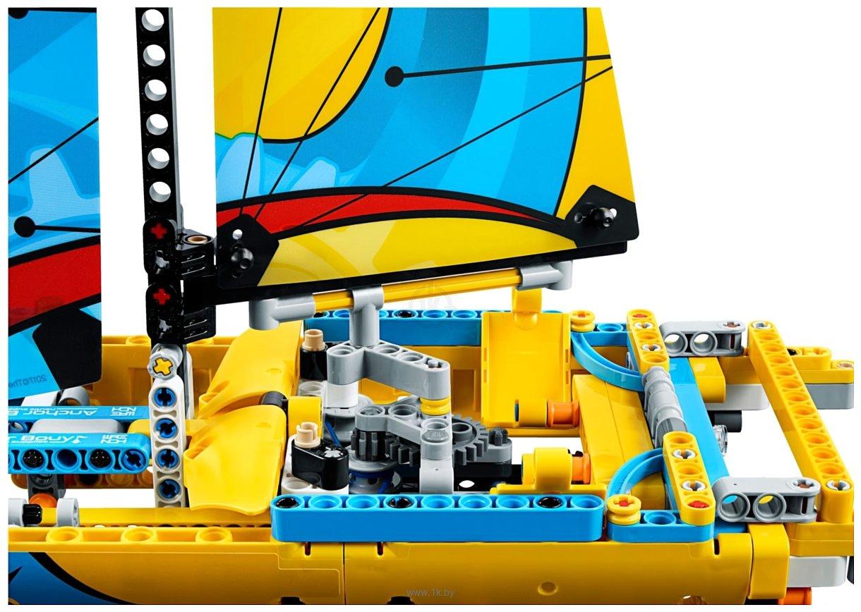 Фотографии LEGO Technic 42074 Гоночная яхта