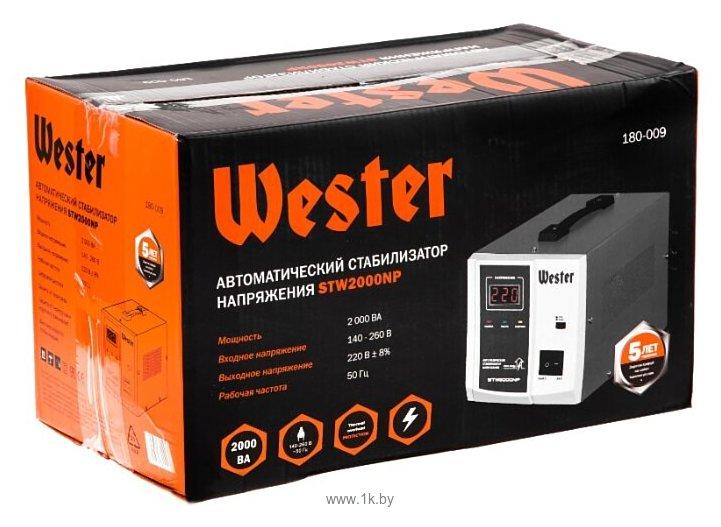 Фотографии Wester STW-2000NP