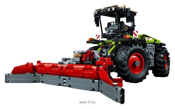Фотографии LEGO Technic 42054 Мощный трактор Claas Xerion 5000
