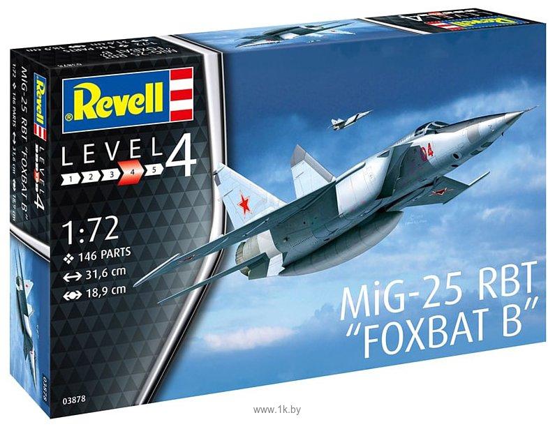 Фотографии Revell 03878 Истребитель-перехватчик MiG-25 RBT