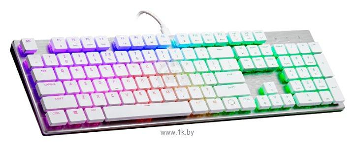 Фотографии Cooler Master SK650 Low Profile White USB