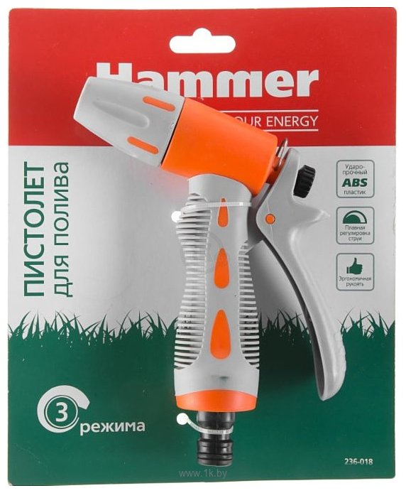 """Фотографии Hammer Пистолет для полива 1/2"""" 236-018"""