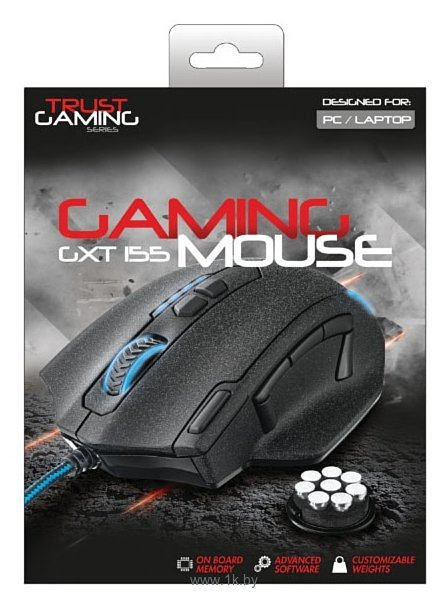 Фотографии Trust GXT 155 Gaming Mouse Black USB