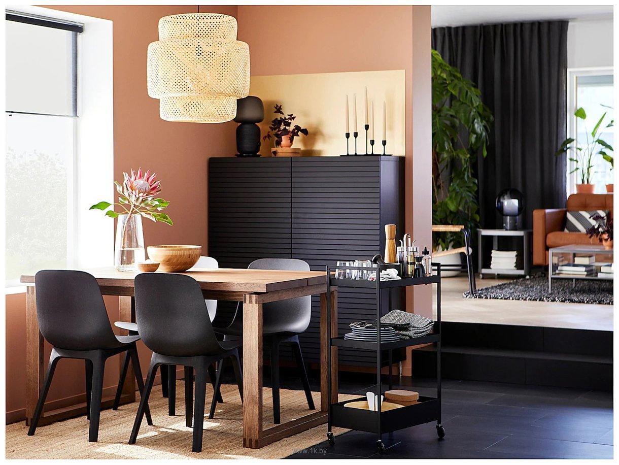 Фотографии Ikea Одгер (антрацит) 004.573.15