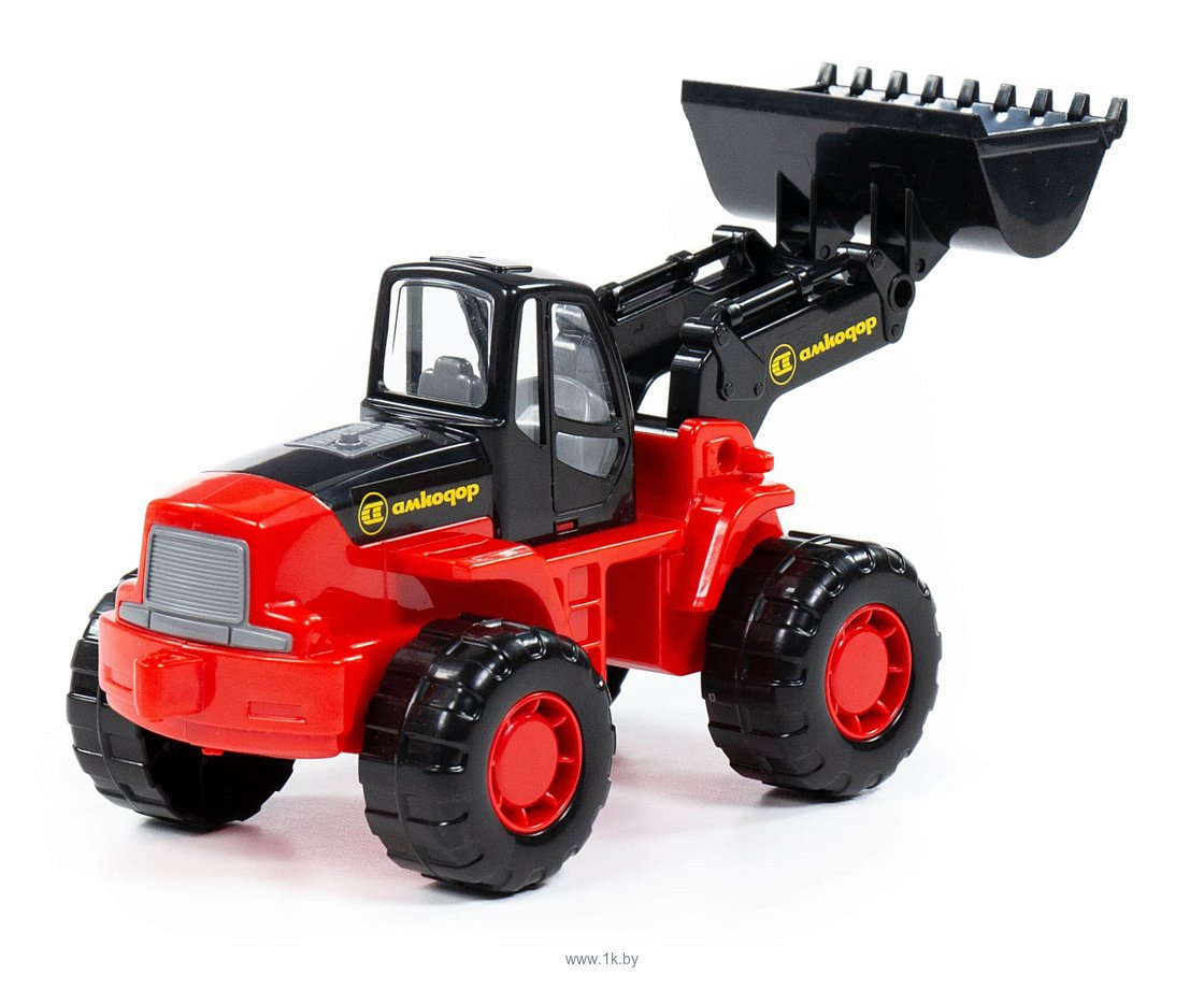 Фотографии Полесье Умелец трактор-погрузчик 35400