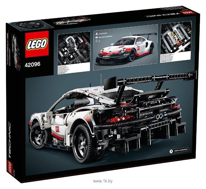 Фотографии LEGO Technic 42096 Порше 911 RSR
