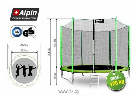 Фотографии Alpin Inside 3.12 м с защитной сеткой и лестницей