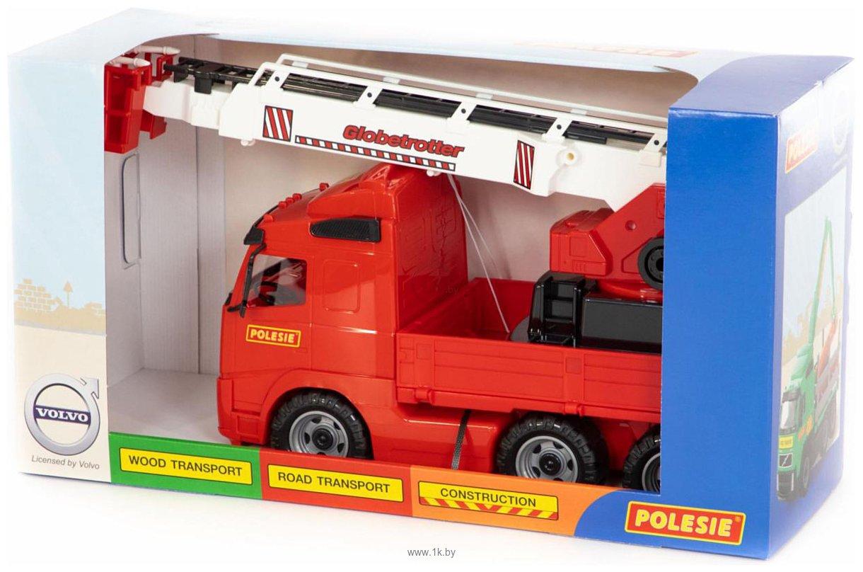 Фотографии Полесье Volvo автомобиль пожарный 58379
