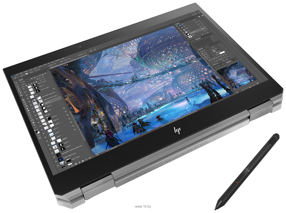 Фотографии HP ZBook Studio x360 G5 2ZC59EA