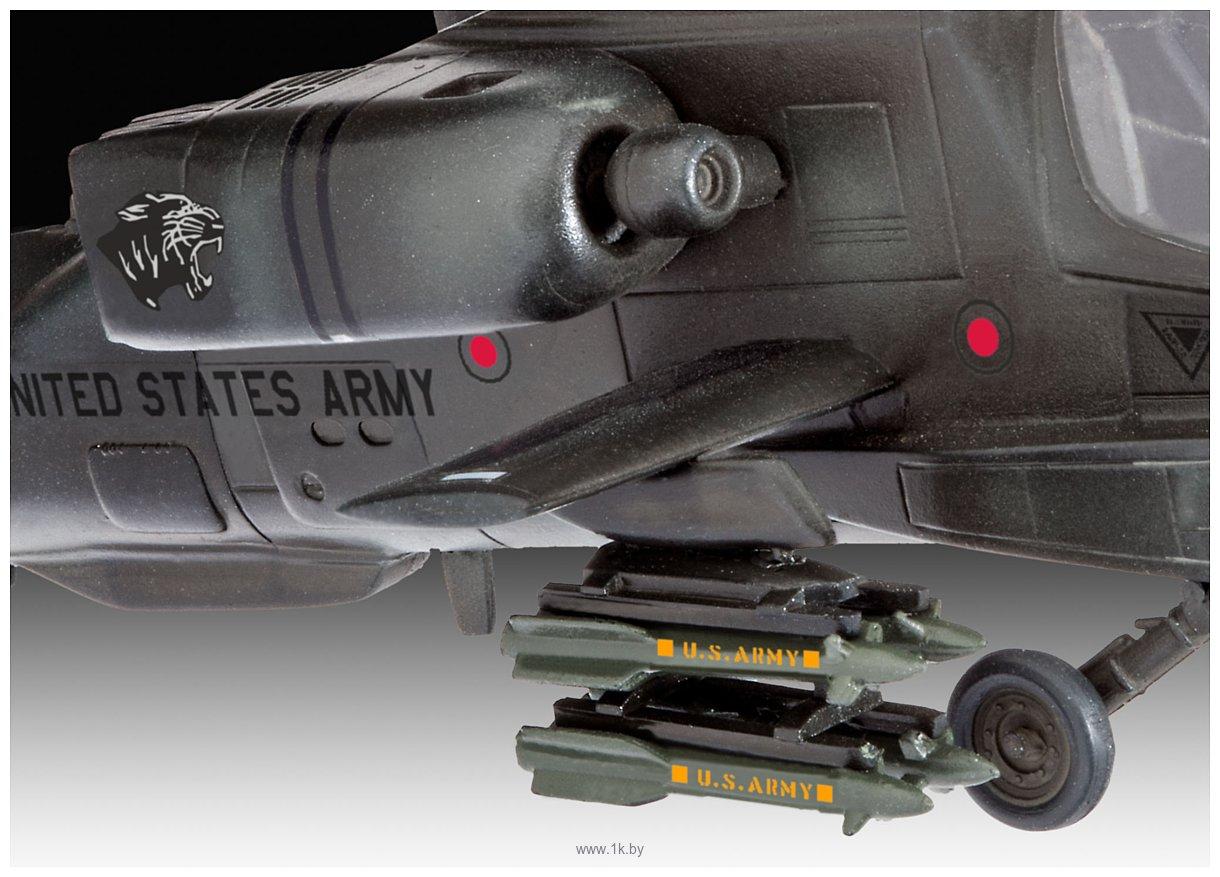 Фотографии Revell 04985 Американский ударный вертолет AH-64A Apache
