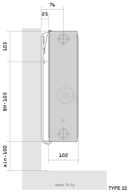 Фотографии Purmo Compact Ventil CV22 500x1200