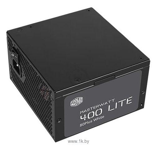 Фотографии Cooler Master MasterWatt Lite 230V 400W (MPX-4001-ACABW)