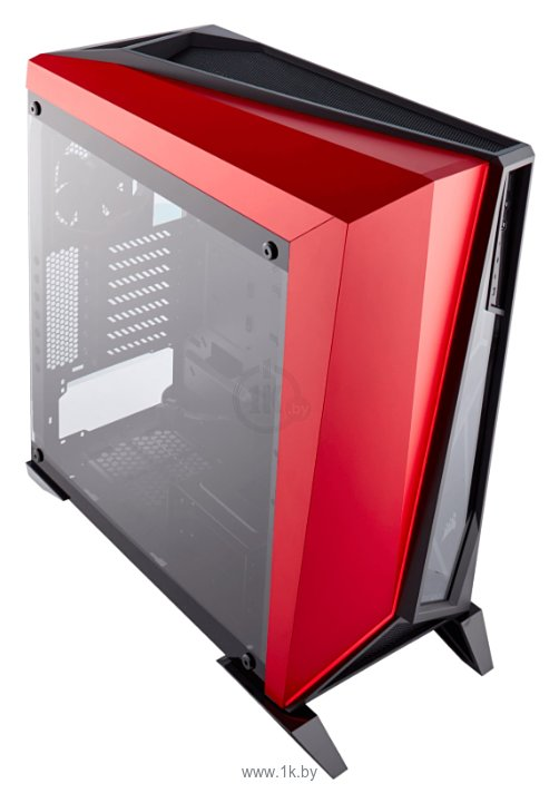 Фотографии Corsair Carbide Series SPEC-OMEGA Tempered Glass Black/red