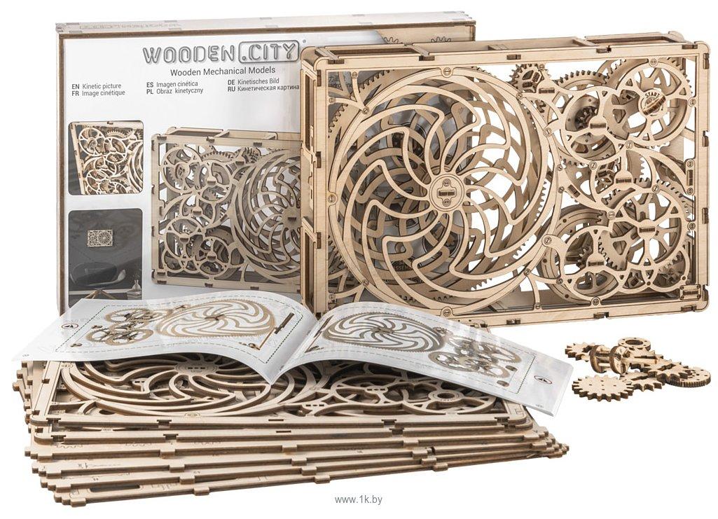 Фотографии Wooden City Кинетическая картина 308