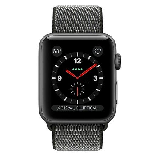 Фотографии Apple Watch Series 3 Cellular 42mm Aluminum Case with Sport Loop
