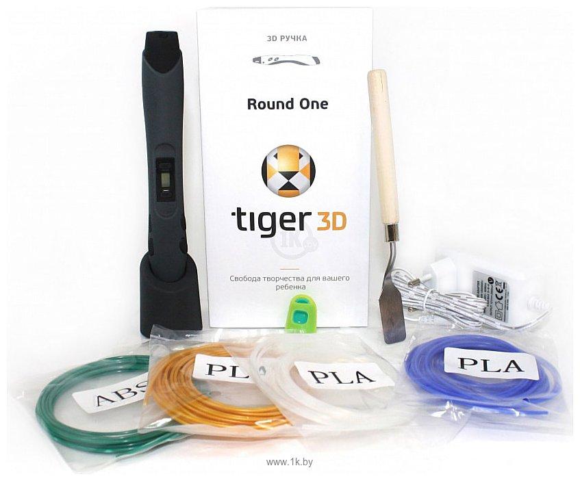 Фотографии Tiger3D Round One (графит)