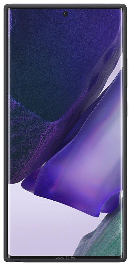 Фотографии Samsung Silicone Cover для Galaxy Note 20 Ultra (черный)
