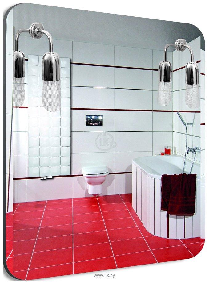 Фотографии Dubiel Vitrum Atos 55x70 зеркало (5905241015699)