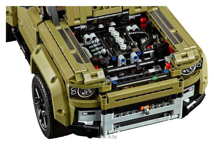 Фотографии LEGO Technic 42110 Land Rover Defender