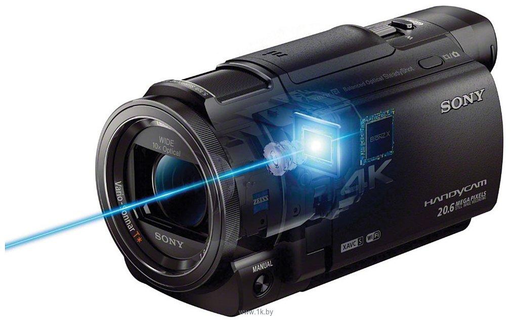 Фотографии Sony FDR-AX33