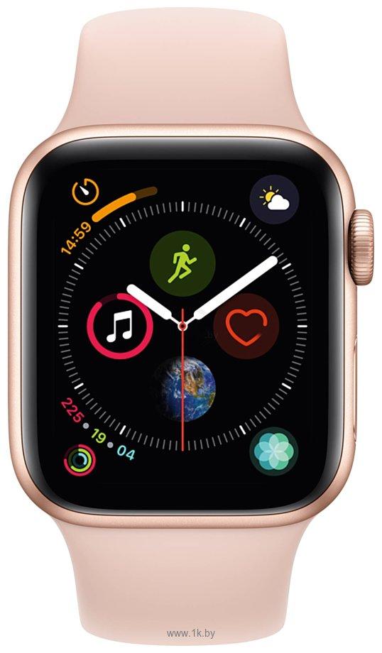 Фотографии Apple Watch Series 4 40mm (алюминий золотистый/розовый песок)