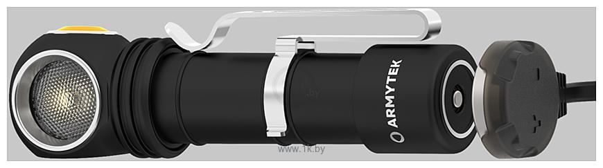 Фотографии Armytek Wizard C2 Pro Magnet USB XHP50.2 (белый)