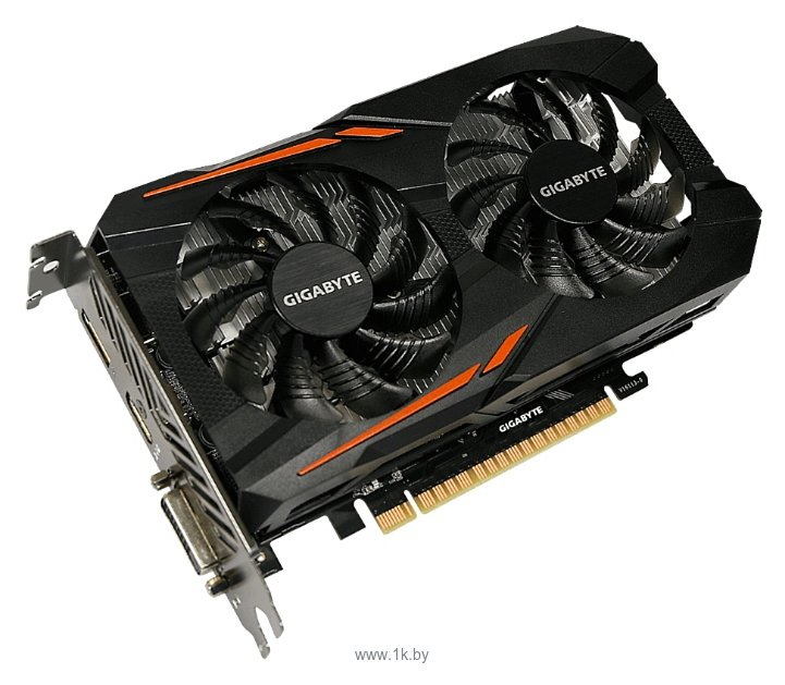 Фотографии GIGABYTE GeForce GTX 1050 1379Mhz PCI-E 3.0 2048Mb 7008Mhz 128 bit DVI HDMI HDCP OC