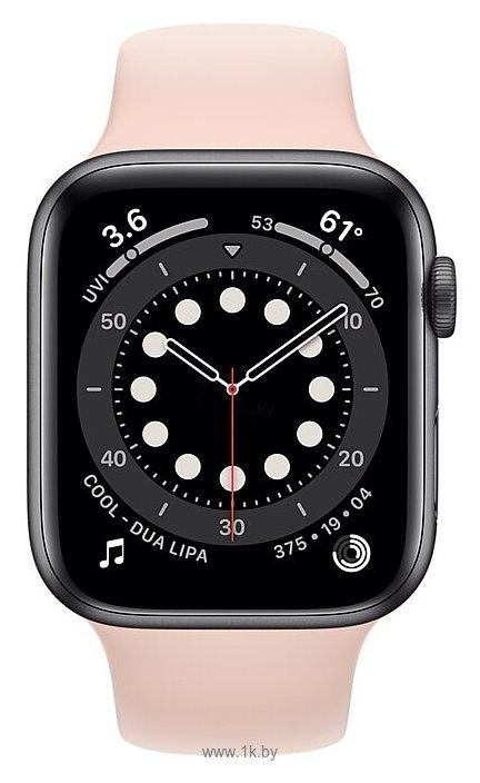 Фотографии Apple Watch Series 6 GPS 44mm Aluminum Case with Sport Band