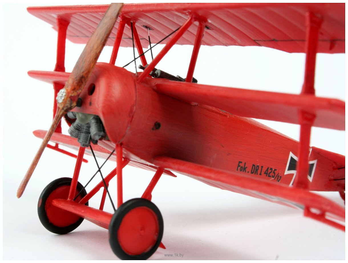 Фотографии Revell 04116 Немецкий самолет Fokker Dr.1 Triplane