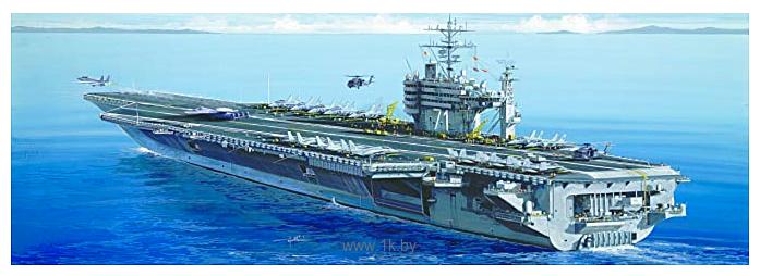 Фотографии Italeri 5531 Американский авианосец U.S.S. Roosevelt CVN-71