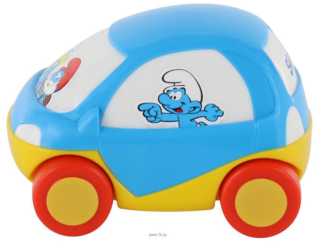 Фотографии Полесье Забавная детская машинка Смурфики №3 64523