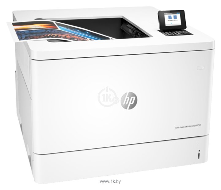 Фотографии HP Color LaserJet Enterprise M751dn